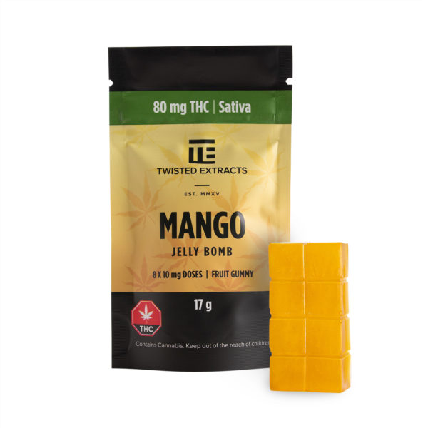 twisted extracts jelly bomb mango